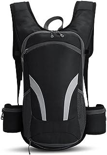 Fyuanmeiiqxbbb hydration backpack 15L Cycling Backpack Raincoat Mountaineering Bike Riding Backpacks Women Men Breathable ...
