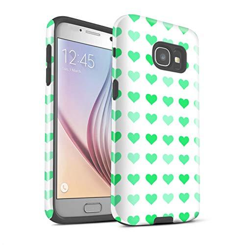 Var voor liefde hart sjabloon SG-3DTBG Samsung Galaxy A5 (2017) Groen
