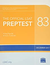 The Official LSAT PrepTest 83: (Dec. 2017 LSAT)