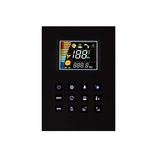 EAGO Dampfdusche DZ972-1F8 schwarz 120×95 - 3