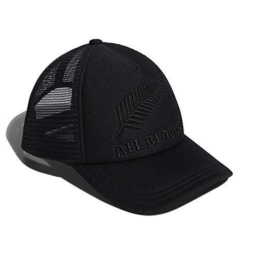 Adidas All Blacks New Zealand - Gorra para hombre, color negro