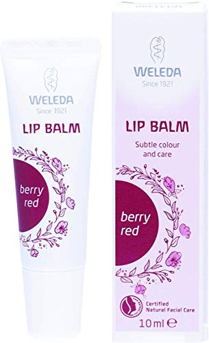 WELEDA Lip Balm Berry Red 1er Pack(1 x 21 g)