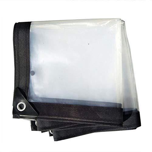 HRFHLHY dekzeil, waterdicht, transparant, weerbestendig, tarp opvouwbaar, fabriek Canopy, regenbescherming
