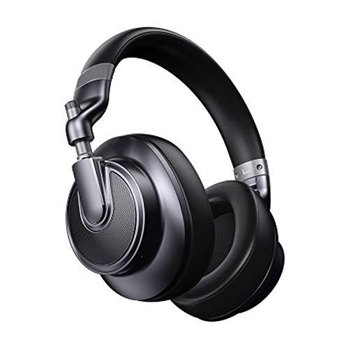 TEMP Casque Bluetooth Hybride numérique à Double Suppression de Bruit, réduction Active du Bruit Contrôle Vocal en Veille prolongée Isolation Acoustique Intelligente Appelable, adapté aux téléphone