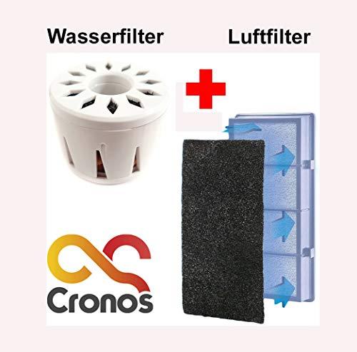 Originele Cronos vervangt water en luchtfilter voor de luchtbevochtiger van Cronos.