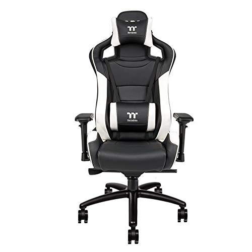 Thermaltake - X-Fit 100 Gaming Chair - Schwarz/Weiß