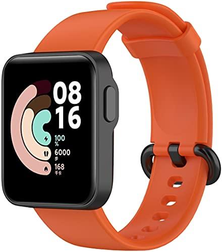 Chainfo Correa de Reloj Recambios Correa Relojes Caucho Compatible con Xiaomi Mi Watch Lite/Redmi Watch - Silicona Correa Reloj con Hebilla (Pattern 2)