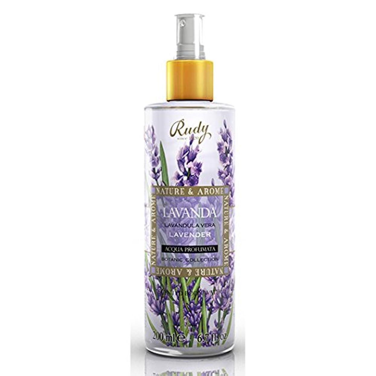 流出来て紫のRUDY Nature&Arome SERIES ルディ ナチュール&アロマ Body Mist ボディミスト ラベンダー