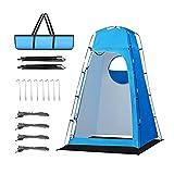 AYYDS Tienda de campaña para ducha con bolsa de transporte, 210 x 120 x 120 cm