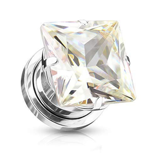 beyoutifulthings Mujer Hombre Niños Unisex incoloro blanco Clear Cubic Zirconia
