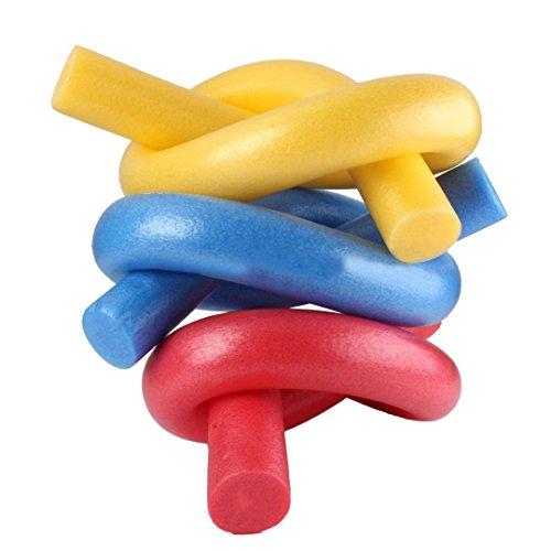 1 churro flotador de espuma de natación/piscina, para adultos y niños, núcleo sólido, color al azar