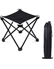 MUSON(ムソン) アウトドアチェア 折りたたみ椅子 超軽量コンパクト(耐荷重80kg) 持ち運び便利 組み立て簡単 収納バッグ付き お釣り 登山 携帯便利 キャンプ椅子 登山 キャンプ用 ウルトラライトチェア 折畳式携帯イス