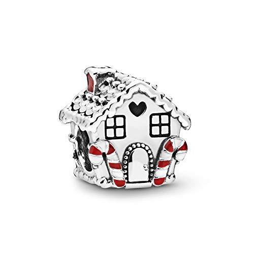925 Plata Tía Abalorio Casa De Jengibre Encanto Moda Mujer Pandora Pulsera Brazalete Regalo Diy Joyería Regalo De Vacaciones Para Novia