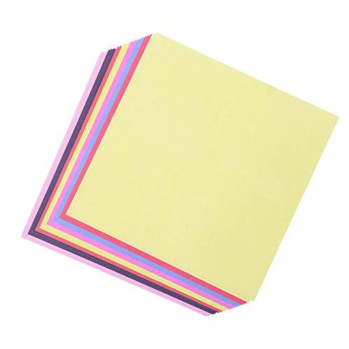 Origami/Diferentes de dos caras Papel hecho a mano/cuadrado / 15 cm * 15 cm Tutorial de entrega-300 puro