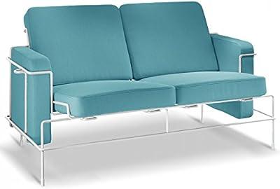 Iconic Interiors Barcelona para sofá en Full anilina Piel ...