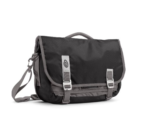 TIMBUK2 Command Messenger Bag, Black/Gunmetal, Small