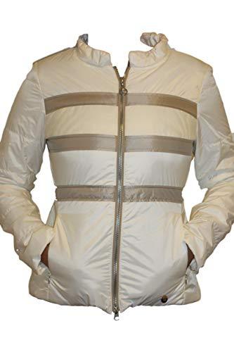Sportalm Kitzbühel Damen Sport Golf Jacke Weiß Beige Größe 38 M Neu mit Etikett