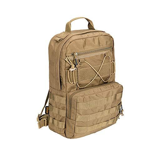 EXCELLENT ELITE SPANKER Outdoor Hydration Backpack Bundle Packs Water Bladder Carrier for 3L Water Bladder(Coyote Brown)