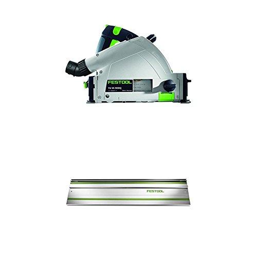 Festool 575388 TS 55 REQ Plunge Cut Track Circular Saw W/ 55' Rail
