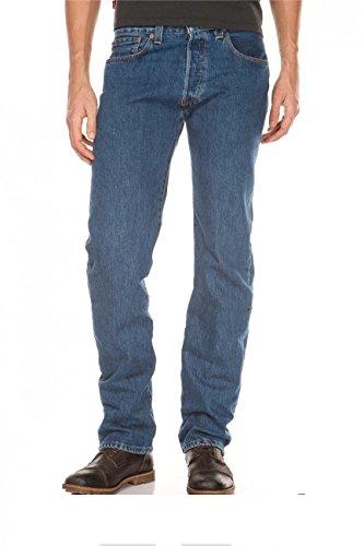 Jeans 501 Levis Moyen 2930 Bleu