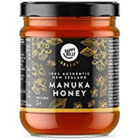 Marca Amazon - Happy Belly Select Miel de manuka 5+, 340gr - MGO 83