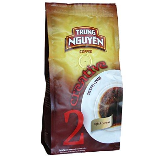 5x250g Trung Nguyen Creative 2 (Arabica und Robusta) Vietnam Kaffee gemahlen