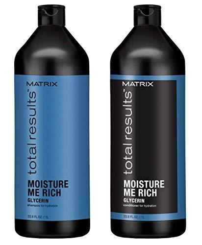Matrix Total Results Moisture Me Rich Shampoo & Conditioner Duo Set 33.8 Set