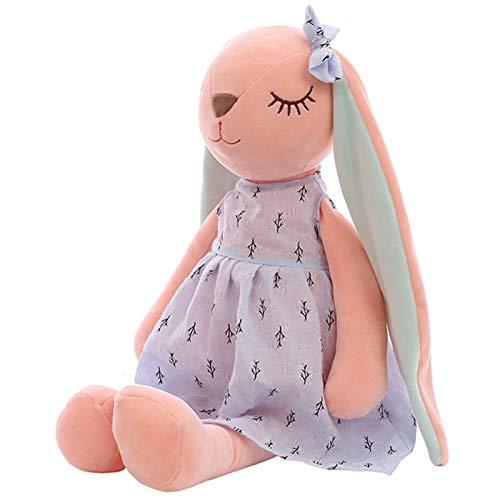 YUNCHENG Kreative Plüsch Puppe Komfort Spielzeug 35/45 / 55 cm Plüsch Puppe Cartoon Kaninchen Puppe PP Baumwolle Gefüllte Puppe Puppe Kinder Urlaub Geschenk Spielzeug Plüsch