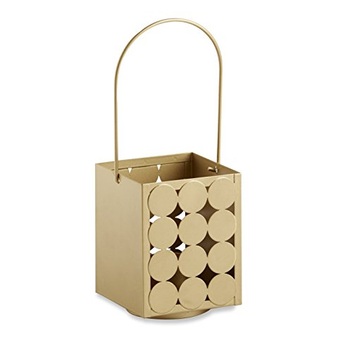Kate Aspen Circle of Love' Classic Lantern, Gold