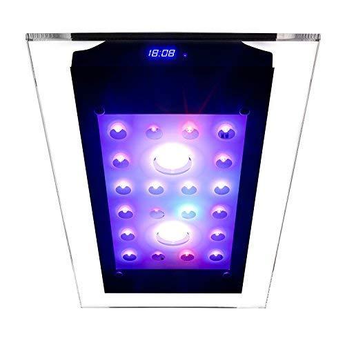 Esmart Germany Sea Nemo Glass 2-110 Watt Aquariumbeleuchtung Für Meerwasser | Programmierbar | Inkl. Kühlung | Aquarium Beleuchtung Aquarium