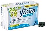 Ymea Vientre Plano - Tratamiento de la menopausia, control de sofocos y alivia el hinchazón abdominal, uso prolongado, sin estrogenos, soja o consevantes, 64 capsulas, Tratamiento 1 mes, 26 gr