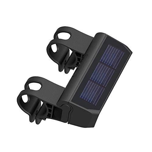 Firoya Fahrradlicht Solar Fahrrad Frontlicht Fahrradlicht Frontlicht Vorne, Fahrradbeleuchtung LED, Fahrradlampe