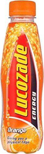 Lucozade Orange 380ml (12.8fl oz) x 6