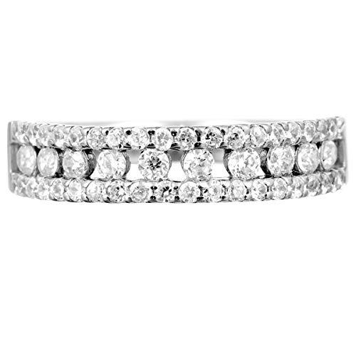 [ココカル]cococaru ダイヤモンド リング シルバー925 ファッションリング 品質保証書 金属アレルギー 日本製(11)