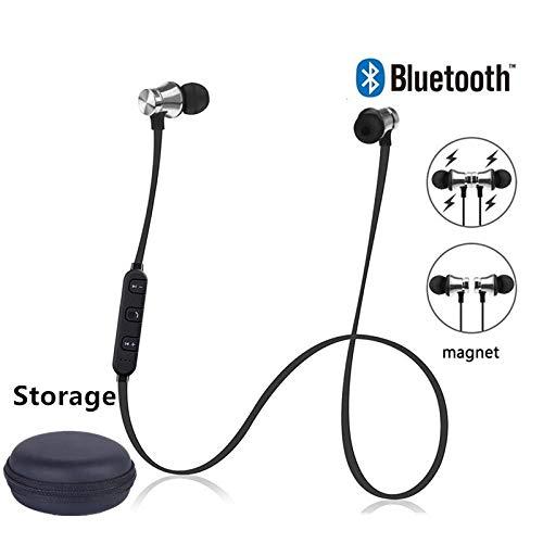 Magnetische draadloze Bluetooth-oortelefoon Stereo Sport Waterdichte oordopjes Draadloze in-ear-headset met microfoon voor iPhone 7 Samsung
