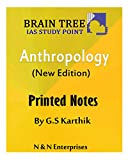 Braintree Anthropology Printed Notes By G.S Karthik (Xerox Study Material) 4 Booklets