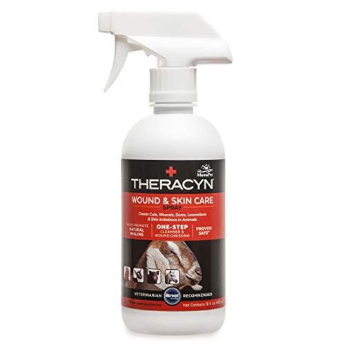 Manna Pro Theracyn Wound & Skin Care Livestock Liquid, 16 oz