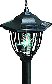 IdeaWorks 2-in-1 Solar Bug Zapper Lantern