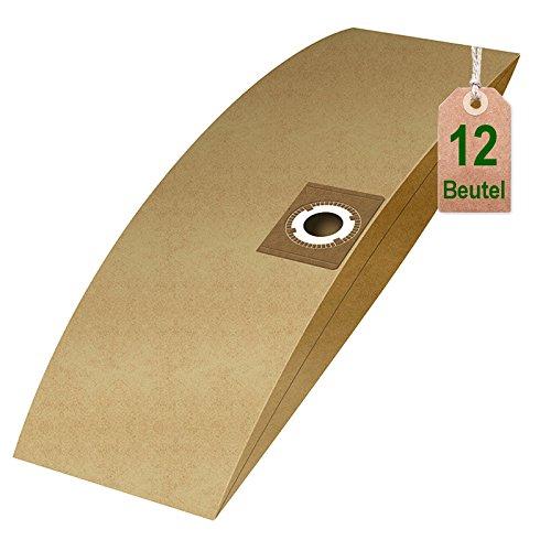 12 Staubsaugerbeutel Filtertüten passend für Masko Nass Trockensauger 1600 W und 1800 W 30 L