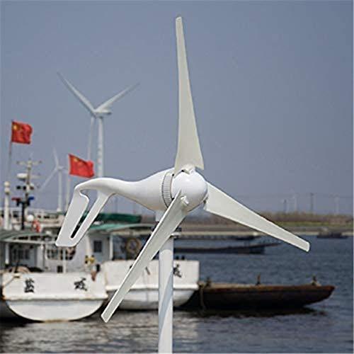 Turbina de Viento, Aerogeneradores con 3PCS Cuchillas Controlador 3 Fase 12V / 24V generación de Land Barco,Kit (Color : 12v)