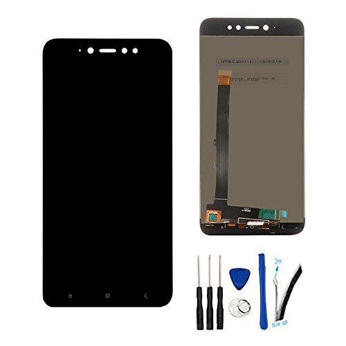 SOMEFUN Pantalla LCD Repuestos Compatible con Xiaomi Redmi Note 5A Pro/Prime Global Version/Redmi Y1(3GB RAM/4GB RAM) LCD Pantalla Táctil Digitalizador Asamblea de Vidrio (Negro)