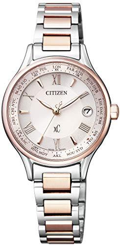 [シチズン] 腕時計 クロスシー EC1165-51W エコ・ドライブ 電波時計 Titania Line Happy Flight シリーズ レディース