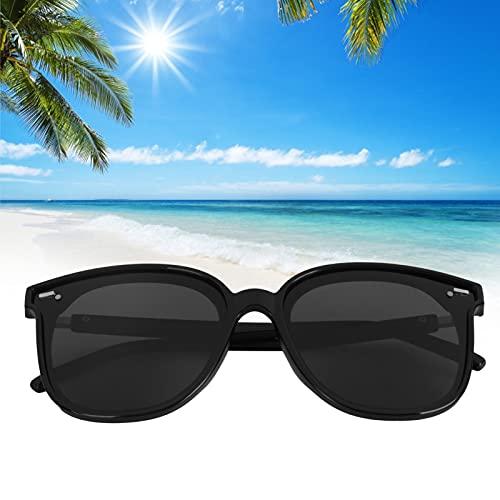 Gafas de sol polarizadas, gafas de sol polarizadas ligeras Gafas de sol unisex anti-UV Marco de plástico Gafas de sol de conducción Gafas de sol polarizadas para hombres Mujeres Moda Vintage Retro