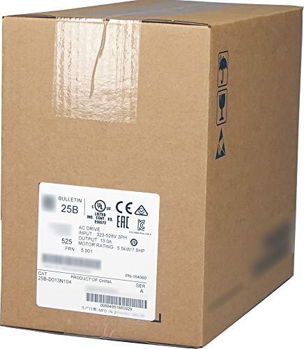 25B-D013N104 525 AC Drive, Variable, 480VAC, 7.5HP / 5.5kW, 13.0 Amp, Normal & Heavy Duty