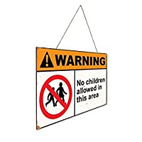 このエリアには子供は許可されていません 木製ポスターレトロなポスター安全標識壁パネル木材注意標識壁標識警告標識絵画標識ショップ興味標識警告装飾壁掛け部屋の装飾背景絵画壁画アートストア食料品ショッピングモール駐車場バークラブカフェレストラントイレ公共の場誕生日プレゼント