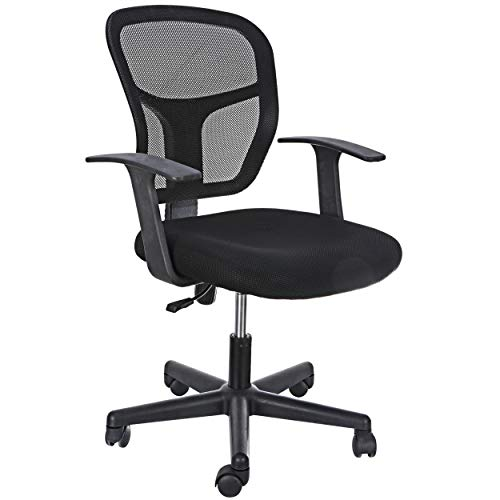 Office Chair Ergonomic Mesh Desk Chair Height Adjustable Task Chair with Lumbar Support Armrest Rolling Swivel