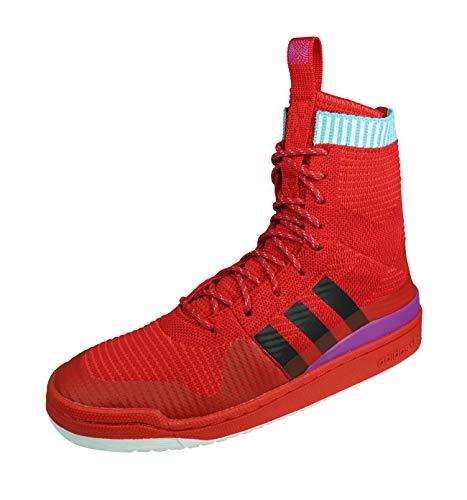 adidas Forum Winter PK, Zapatillas de Deporte para Hombre, Rojo (Escarl/Negbas/Pursho), 49 1/3 EU