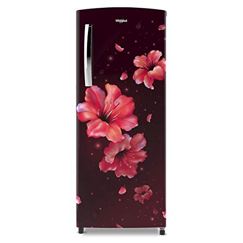 Whirlpool 200 L 4 Star Inverter Single Door Refrigerator (215 ICEMAGIC PRO PRM 4S, Wine Hibiscus) | Offer | Price in India