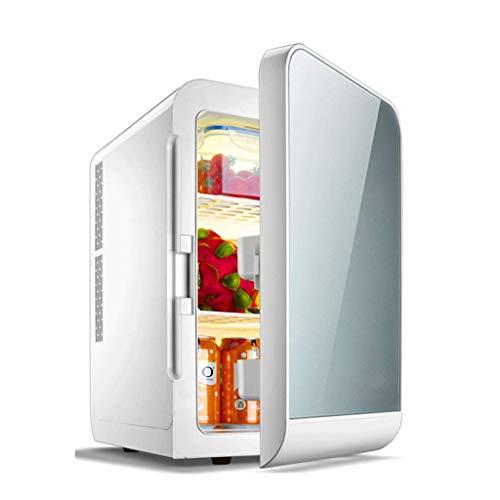 Tragbar 20L Mini-Kühlschrank Kühlschrank mit Gefrierfach Kühlung und Heizung Exquisit (Color : A)