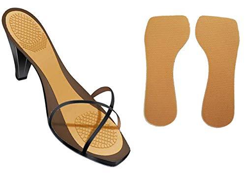 VITAL FOOT - Plantilla Gel Látex Antideslizante Pegatina Zapatos Tacón Mujer (35-36)